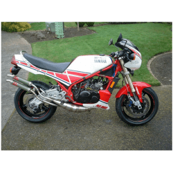 Exhausts Expansions Chambers Pipes Gp Style Jim Lomas Yamaha Rz 350 Ypvs 1982 1995 Steel Exhaust