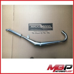 Exhausts Expansions Chambers Pipes With Steel Polished Gp Kawasaki H1 1969 1972 Mbp506