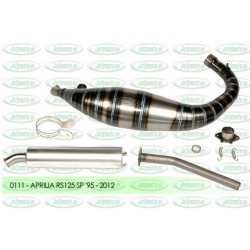exhaust expansion chambers jollymoto 0111 aprilia rs 125