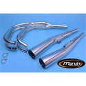 Scarico completo exhaust auspuff 4 2 Honda CB 900 F BOL D'OR 1979 marving